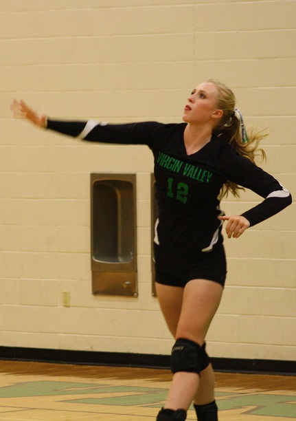 Lady Bulldogs defeat Miners 3-0 in volleyball home