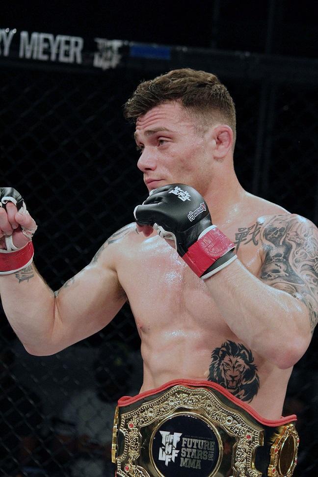 Shapiro takes belt at Mayhem in Mesquite IX