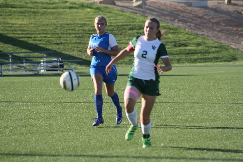 Bulldog soccer gals tie Wolves 2-2