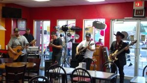 Guests enjoyed live music at the grand opening of El Coyote Charro on Sept. 23 at their location behind AM/PM at 325 N Sandhill Blvd. Photo by Stephanie Clark.