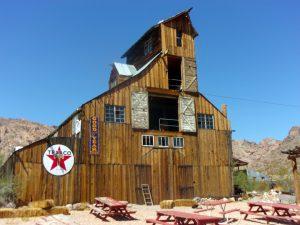 Old barn at Techatticup Mine Camp, NV - September 2016