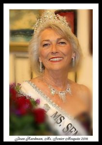 Ms. Senior Mesquite 2016, Jean Hardman, won first runner-up in the 2016 Ms. Senior Nevada Competition.  Submitted photo.