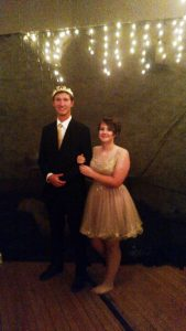 Hollywood-themed 2016 VVHS Homecoming King and Queen Tyler Wilson and Taylor Bulloch celebrated in style at the annual dance held at the Old Boxing Gym Sept. 24. Hundreds of students attended to celebrate a tradition and a victorious week at VVHS. Photo by Stephanie Clark.