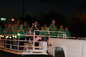 Virgin Valley High School Staff showed their school spirit at the Homecoming Parade on Sept. 22. Photo by Stephanie Clark.
