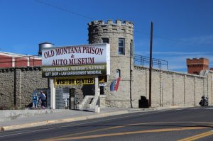 The Old Montana State Prison built in 1871 with convict labor.