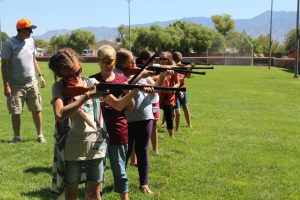 A Gathering of Girls from the Mesquite Nevada Stake Primary Presidency of the Church of Jesus Christ of Latter-day Saints held an all-day event Saturday Sept. 10 offering a variety of activities.