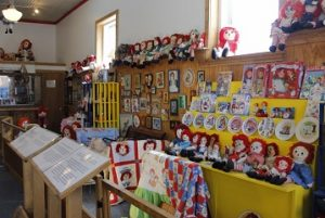 The Raggedy Ann Museum part of the Old Montana State Prison Complex.