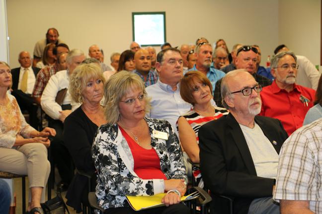 Mesquite Businesses hear Natural Gas presentation