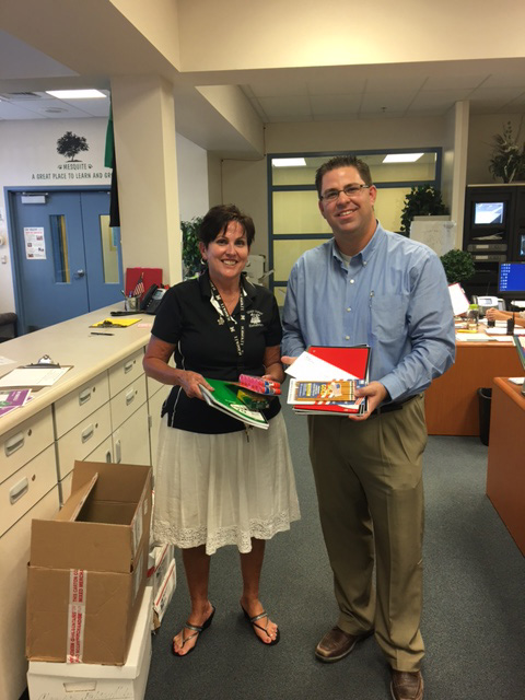 Annual School Supply Drive delivers