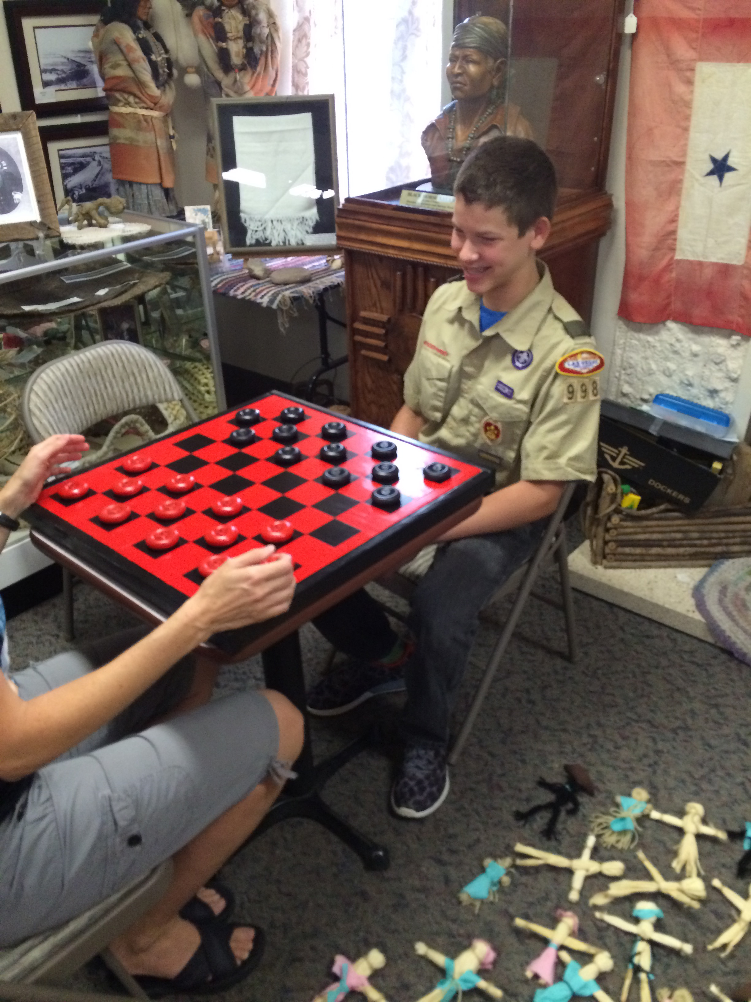 Local Boy Scout Donates Handmade Vintage Toys to Museum