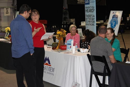 Mesquite Gaming's First annual Health and Wellness fair was well received