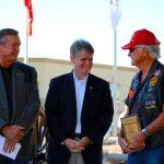 Veterans Memorial service actually a celebration