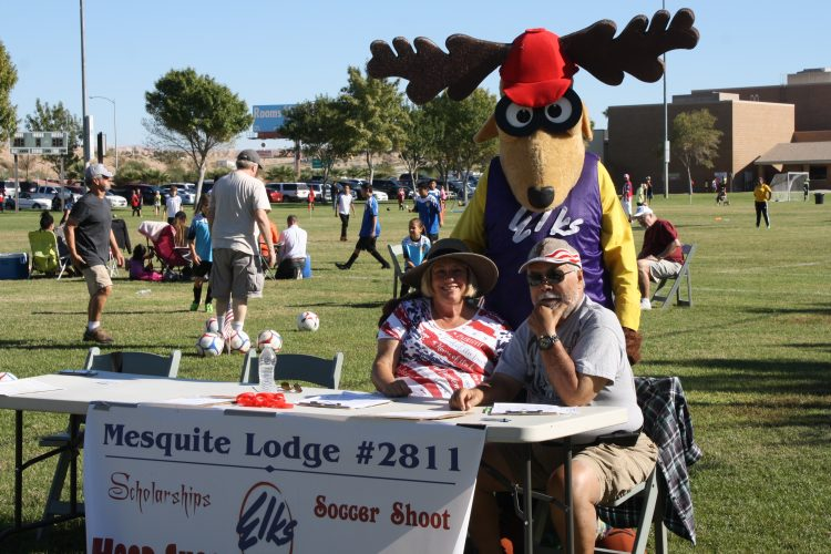 Elks hold annual Soccer Shoot