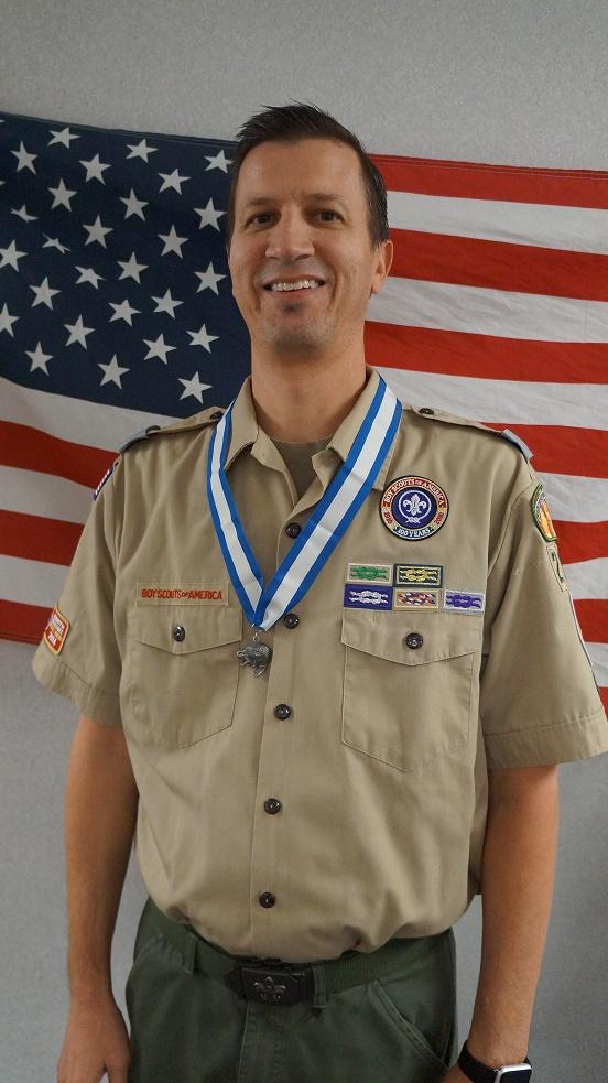 Kyle Memmott Receives Silver Beaver Award Mesquite Local
