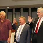 Newly-elected city officials sworn into office
