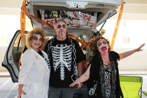 Employees of Reliance Connects came out to the 10th Annual Trunk or Treat sponsored by the Mesquite Police Department. Photo by Stephanie Clark.