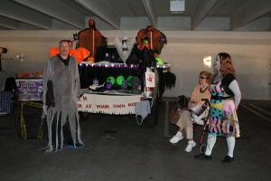 Smart Style, a salon inside of Wal-Mart, took the award for Most Festive Trunk at the 10th Annual Trunk or Treat held at the CasaBlanca Parking Garage on Oct. 31. Photo by Stephanie Clark.