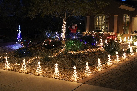 Bright lights mean awards in first annual Mesquite Rotary Club's Festival of Lights contest