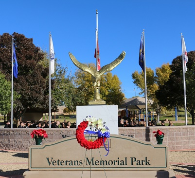 Mesquite dedicates memorial on 75th anniversary of Pearl Harbor Day