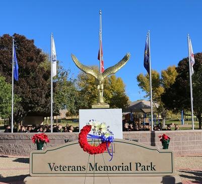 Mesquite dedicates memorial on 75th anniversary of Pearl Harbor Day