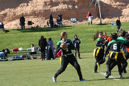 Gridiron Gals reach fifth in Southern Nevada Coaches poll