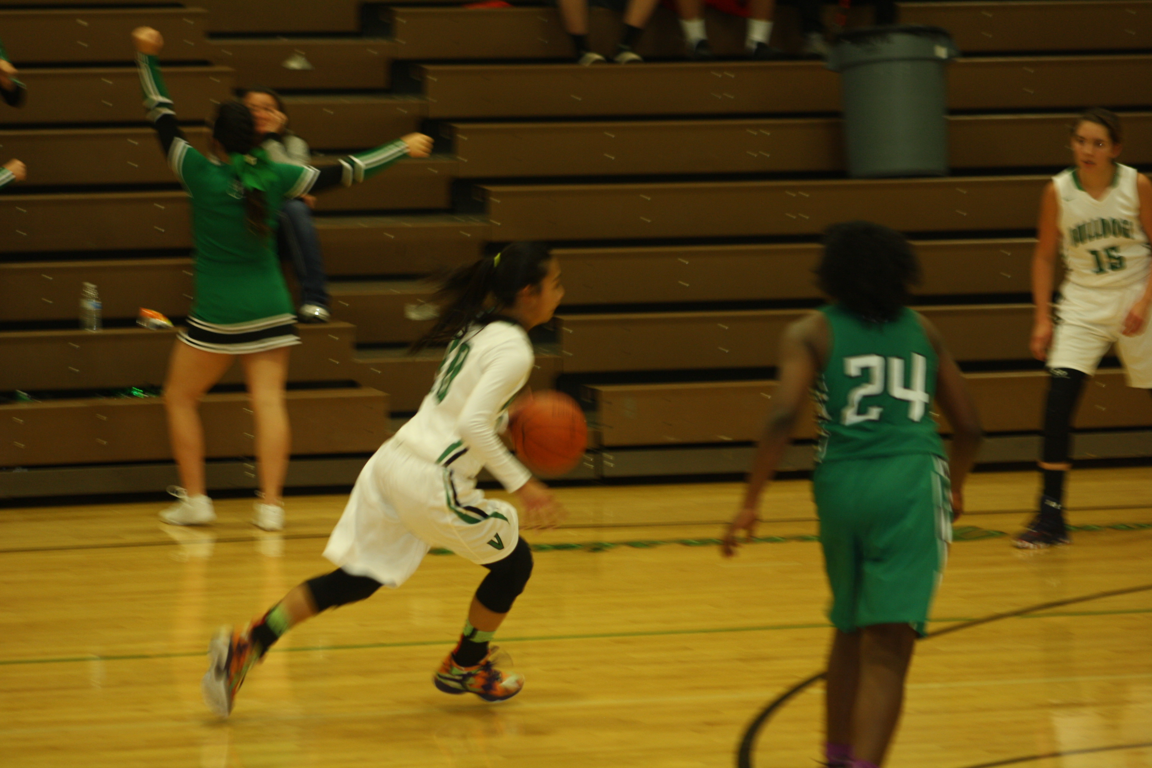 Lady Dawgs open season with 46-37 win over Rams