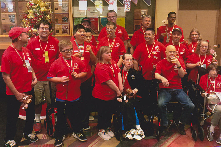 Mesquite Olympians compete in bowling tourney