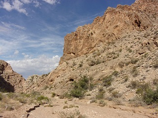 Basin and Range versus Gold Butte Situation
