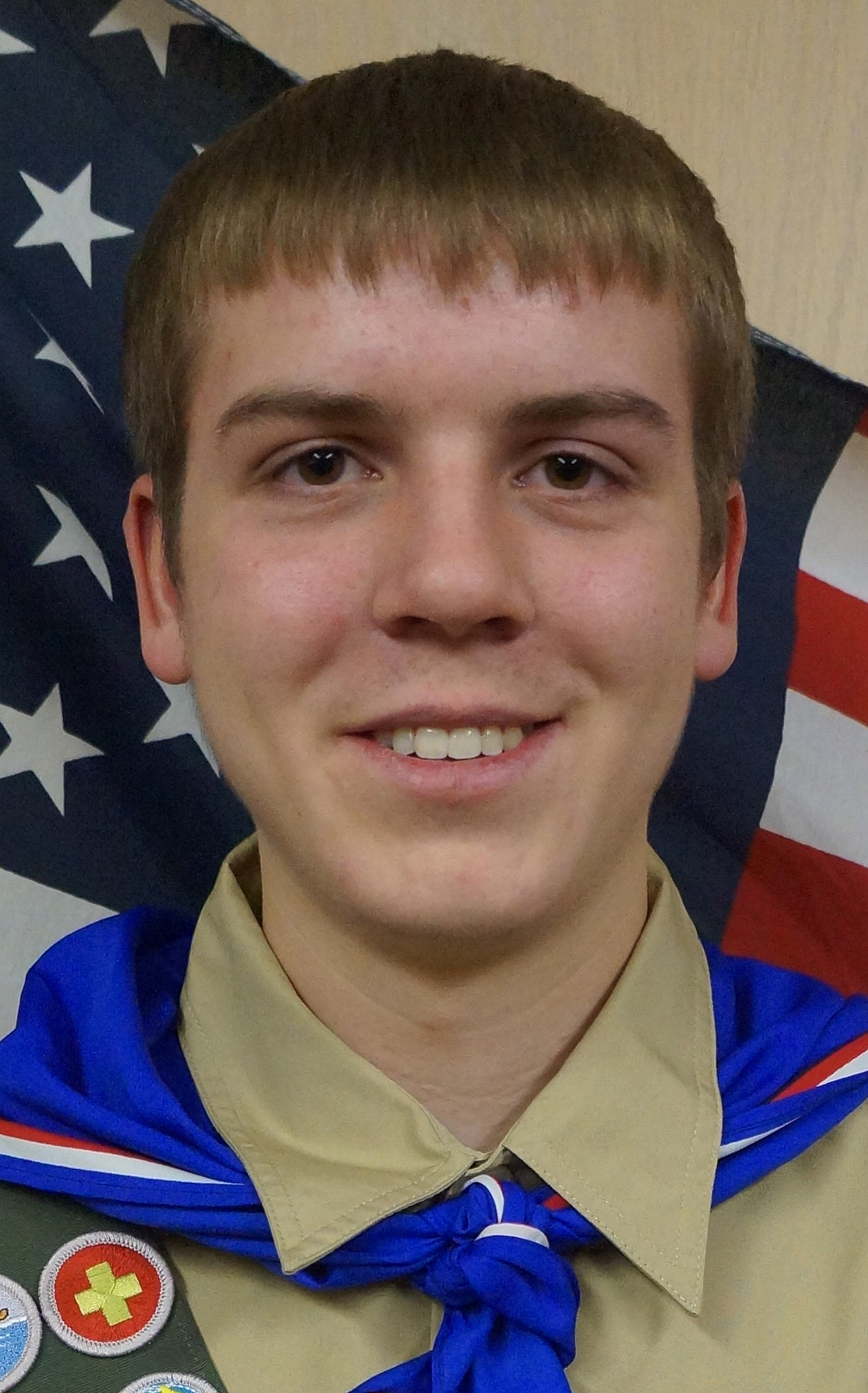 Laub receives Eagle Scout award