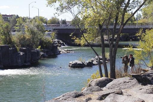 Idaho Falls, name a town, name a town.