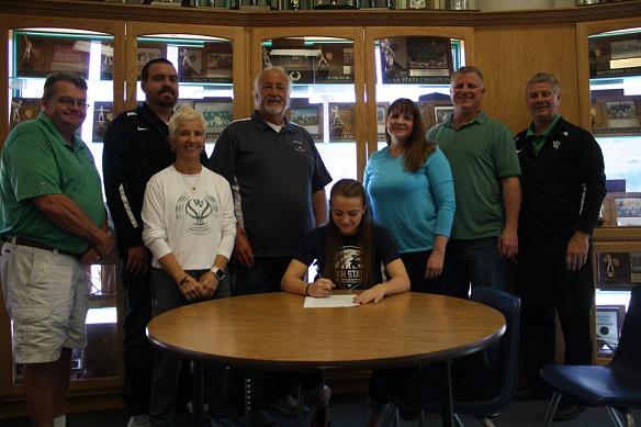 Abbie Barnum signs soccer scholarship to USU Eastern