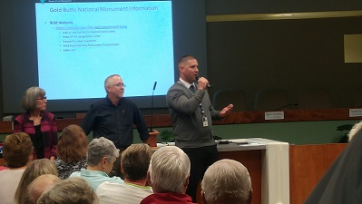 Gold Butte meeting contentious and confrontational