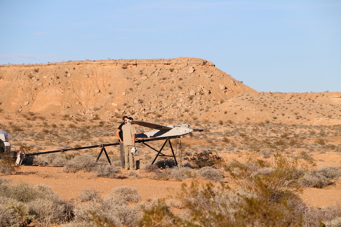 Mesquite – A Desert Oasis for Testing Big UAS