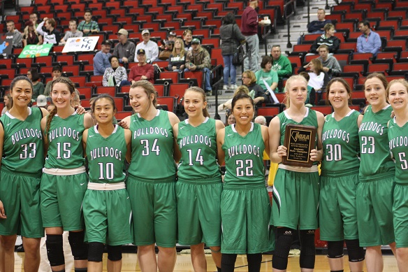 NIAA honors Lady Bulldog basketball team