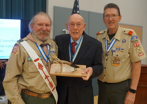Scout leaders recognized for service