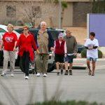 Hundreds walk for heart health