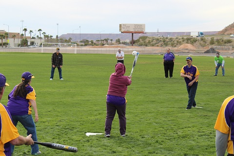 America's game brings normalcy to the blind