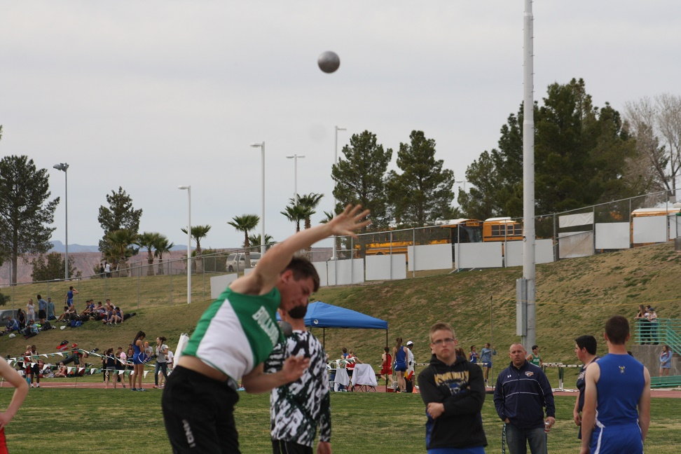 VVHS Boy's track team dominate relays and weight events