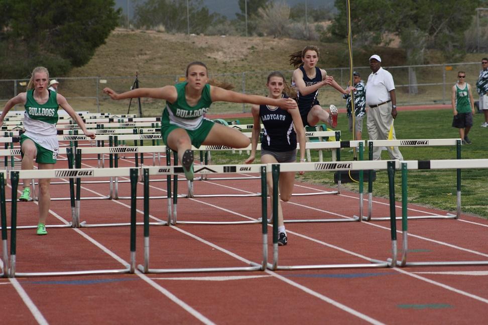 Lady Dawg track team dominates Bulldog Early Bird Invitational