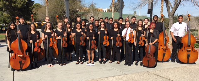 Orchestras Perform for district festival