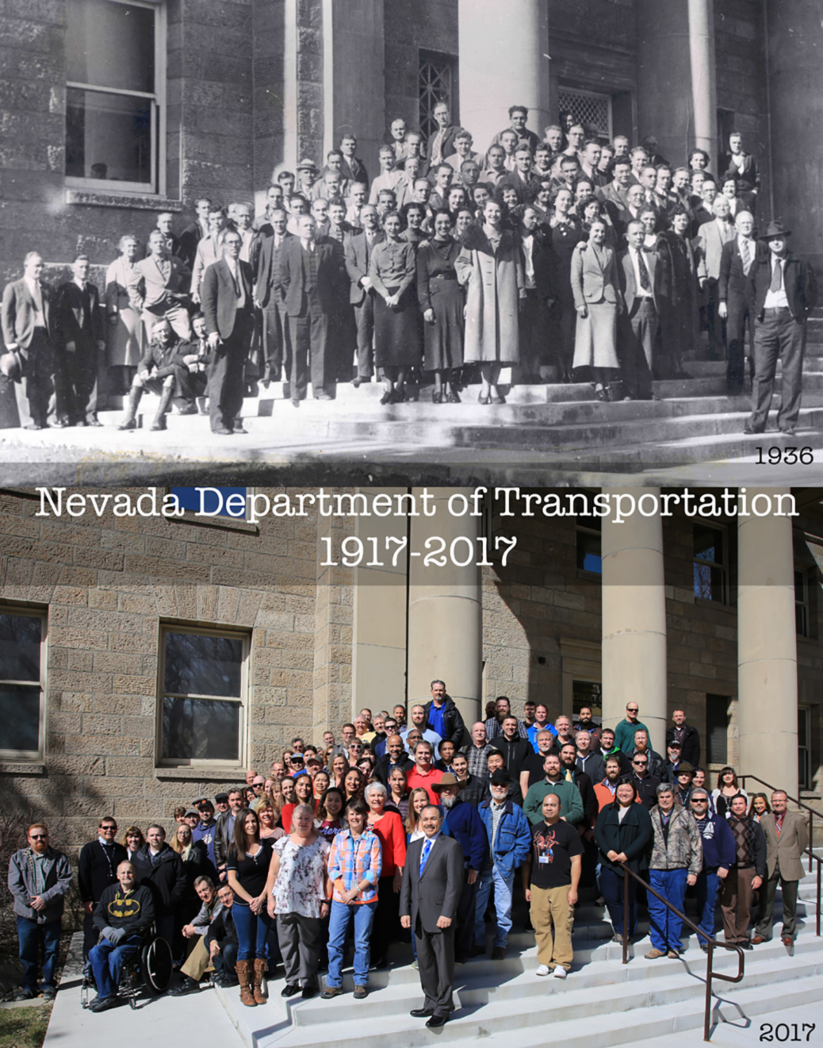NDOT Celebrates 100-Year Anniversary