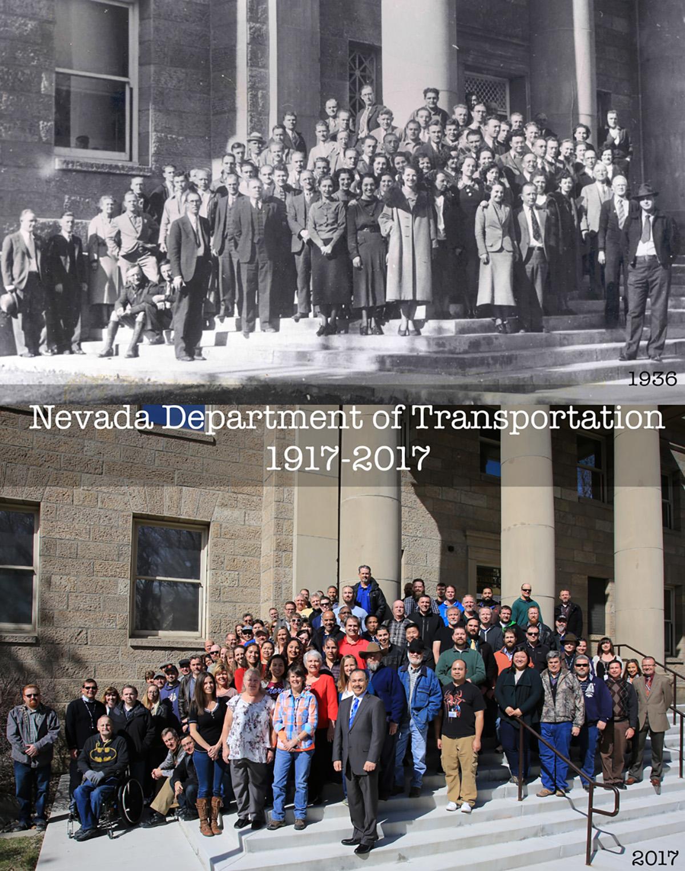 NDOT Celebrates 100-Year Anniversary