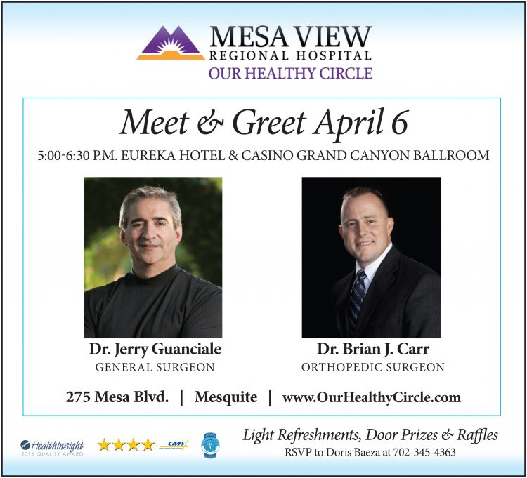 Mesa View Meet and Greet