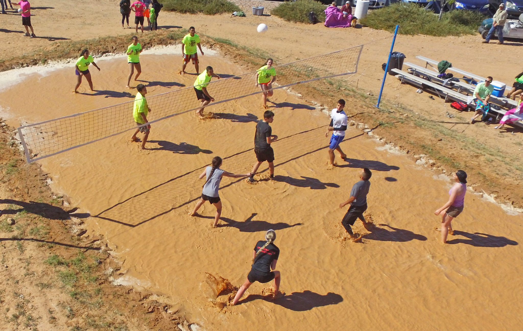 Mudd Volleyball Saturday