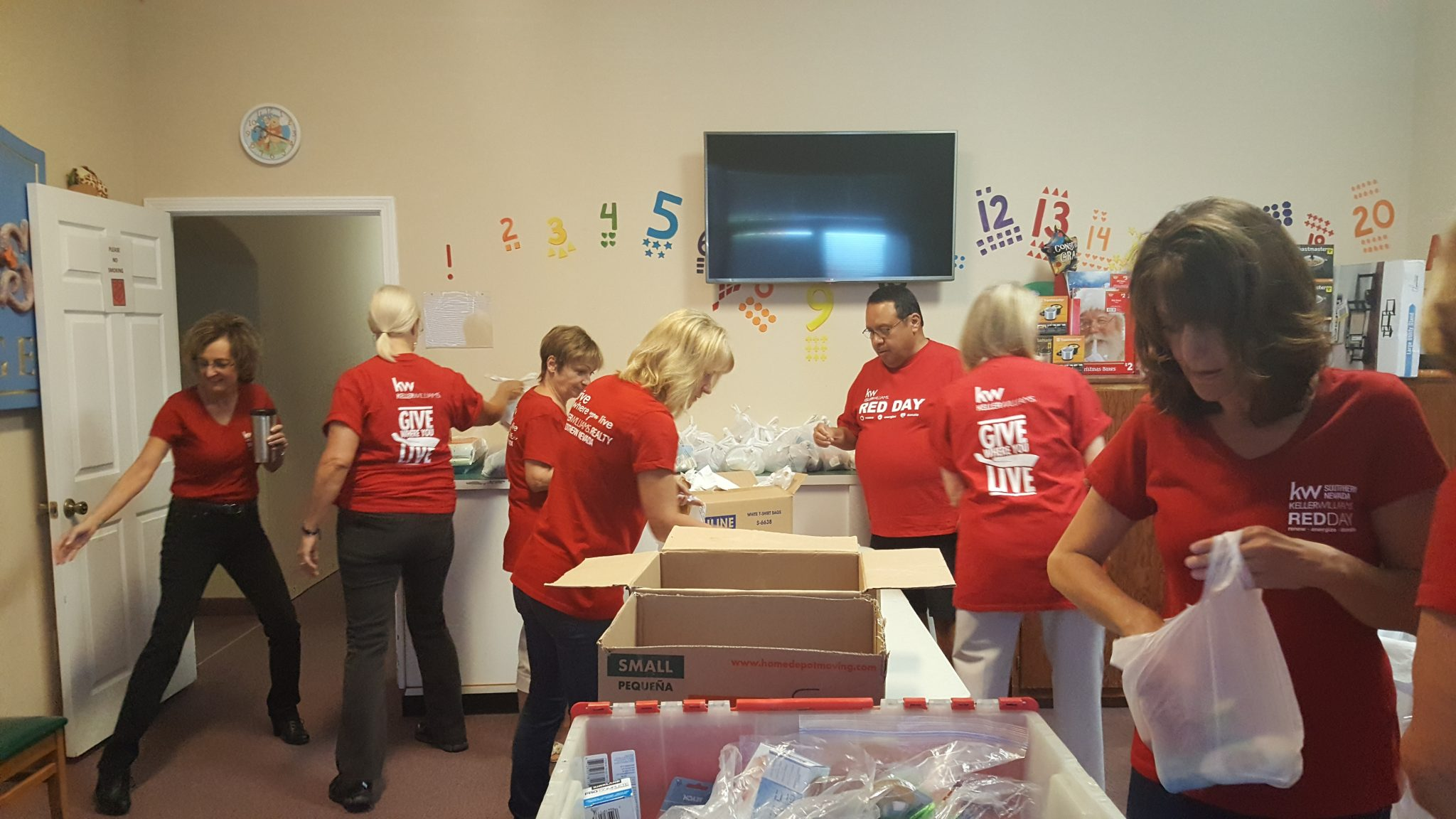 Keller Williams gives back to the community