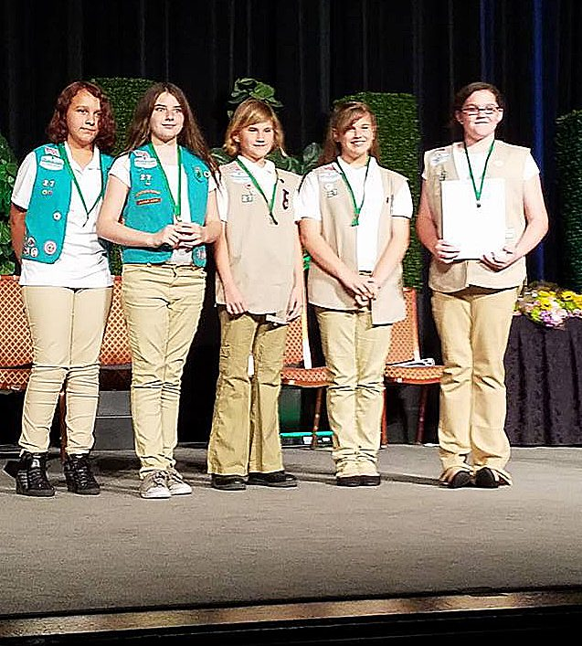 Girl Scouts take awards in Las Vegas