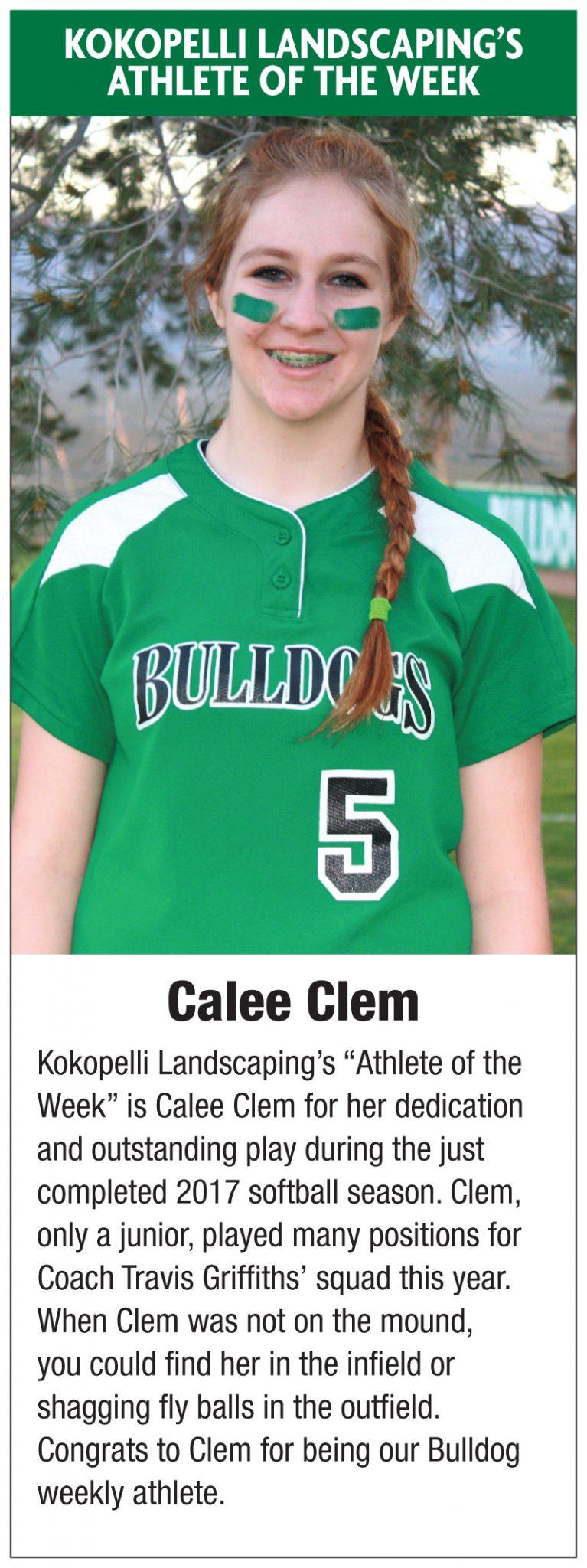 Kokopelli Landscaping's Athlete of the Week