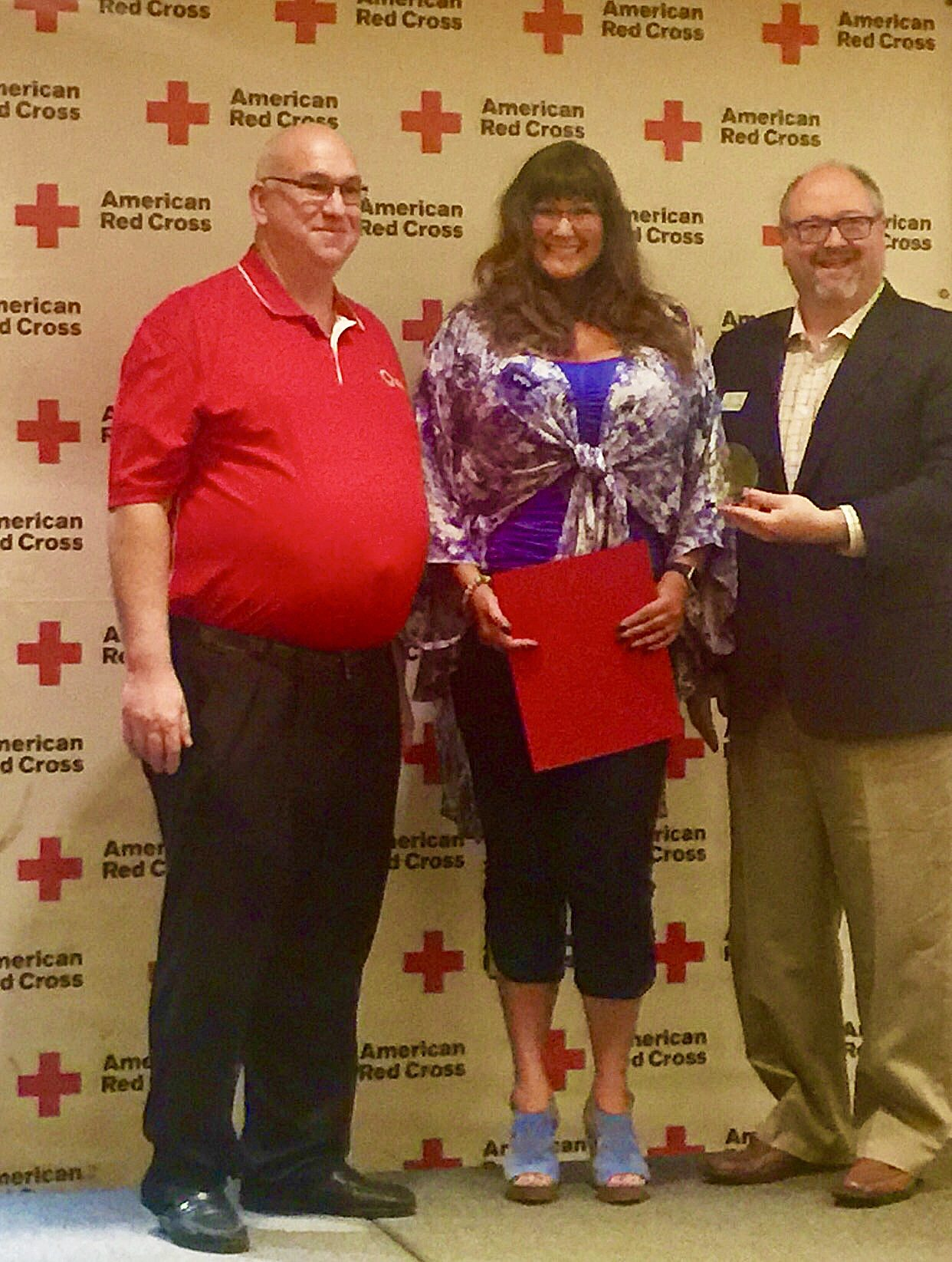 Woolsey awarded for blood drive efforts
