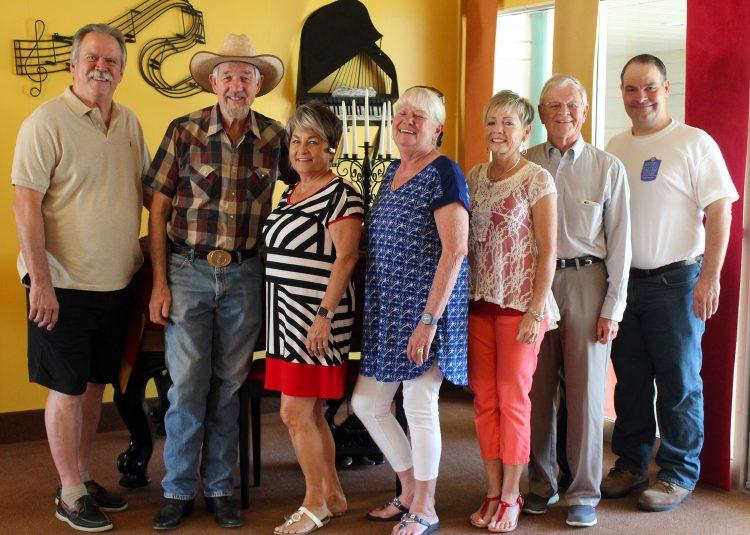 Theater volunteers recognized