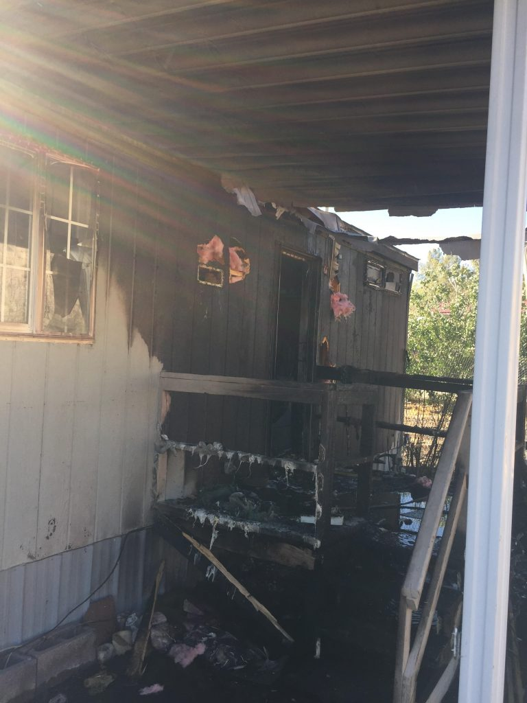 Beaver Dam Fire Mobile Home Fire Results In Arrest